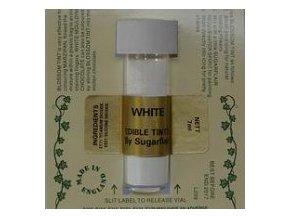Prachová barva 2g - White