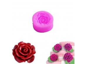 Formička silikonová OR933 - růže