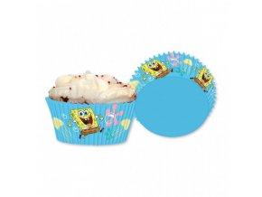 Košíčky na muffiny - Spongebob
