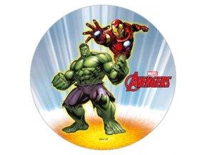 Jedlý papír D - Avengers