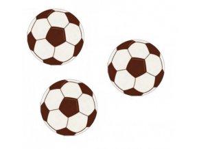 Fotbalový míč z jedlého papíru - 10 ks