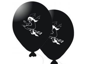 Balónky 5 ks - čarodějnice