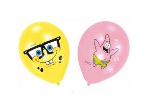 Balónky 6 ks - Spongebob extra