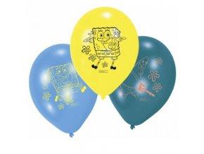 Balónky 6 ks - Spongebob