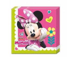Ubrousky s potiskem - Minnie Mouse