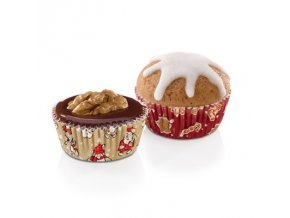 Cukrářské mini košíčky DELÍCIA - vánoční