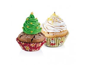 Cukrářské košíčky velké DELÍCIA - vánoční