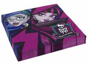 Ubrousky s potiskem - Monster High