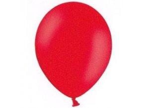 Balónky 5 ks pastelové - červené