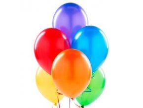 Balónky 30 ks - mix barev - metalické