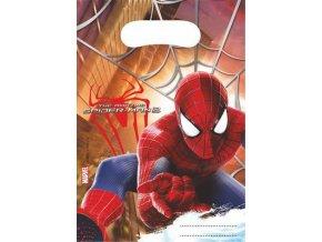 Dárková party taška 6 ks - Spiderman
