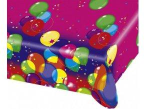 Party ubrus s potiskem - motiv balonky