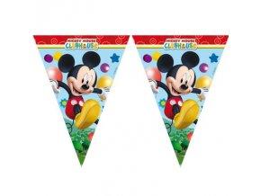 Dekorační vlajky - Mickey Mouse