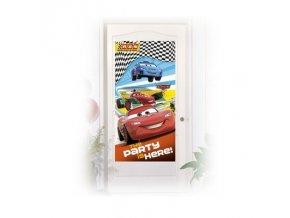 Plakát na dveře - Cars