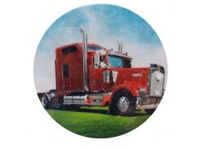 cerveny kamion