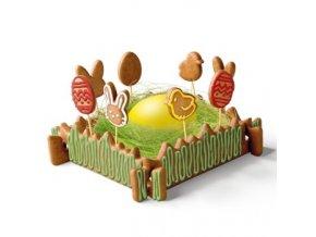 Perníková Velikonoční zahrádka DELÍCIA - souprava vykrajovátek