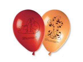 Balónky 8 ks - Medvídek Pooh
