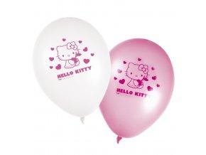 Balónky 8 ks - Hello Kitty