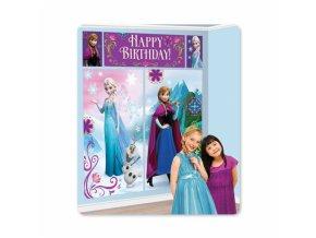 Plakáty do dětského pokoje 5 ks - Frozen Ledové království