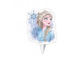 Dortová svíčka deKora - Frozen Ledové království