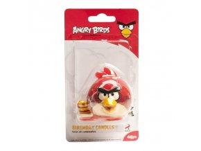 Dortová svíčka 3D - Angry Birds