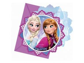 Pozvanky na party Frozen 1286919