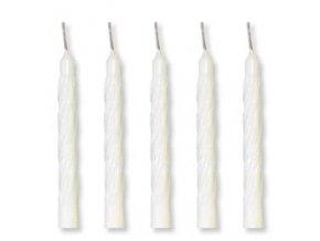 Dortové svíčky Modecor 100 ks - bílé