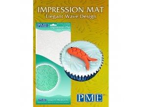 Otiskovací podložka PME - Elegant Wave