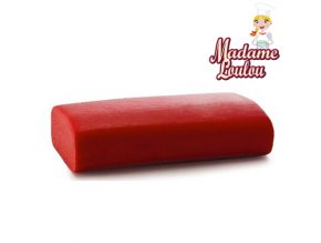Potahovací hmota Madame Loulou - 250g - Červená