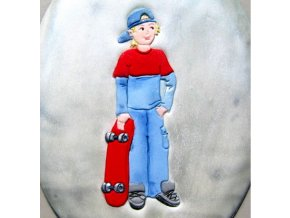 Patchwork - Skateboarder