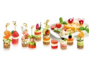 Tvořítka na jednohubky PRESTO Foodstyle - 4 tvary