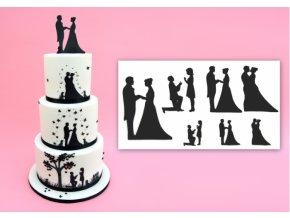 Patchwork - Wedding Silhouette Set