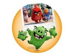 Jedlý papír D - Angry Birds