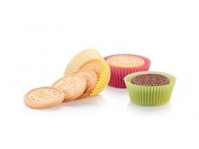 Košíčky na sušenky DELÍCIA pr. 8.0 cm, 60 ks