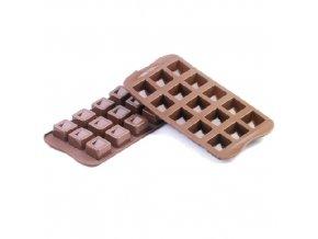 Forma na čokoládu Silikomart - Cubo