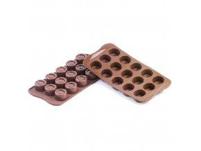 Forma na čokoládu Silikomart - Vertigo