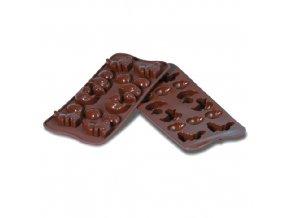 Forma na čokoládu Silikomart - Velikonoce
