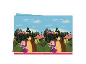Party ubrus s potiskem - Máša a medvěd