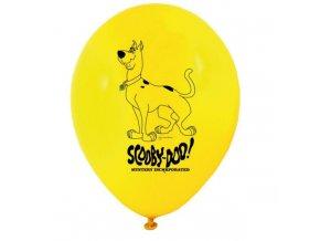 Balónky 8 ks - Scooby Doo - mix barev
