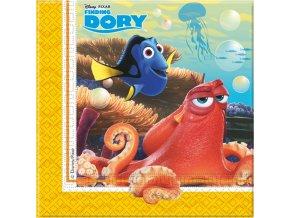 Ubrousky s potiskem - Hledá se Dory