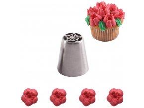Zdobící ruská špička OR022 - tulip
