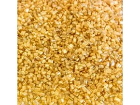 Cukrové krystalky - zlaté - balení 500g