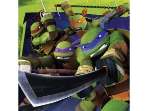 Ubrousky s potiskem - Želvy Ninja