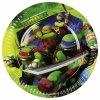 Party talíře 8 ks - Želvy Ninja