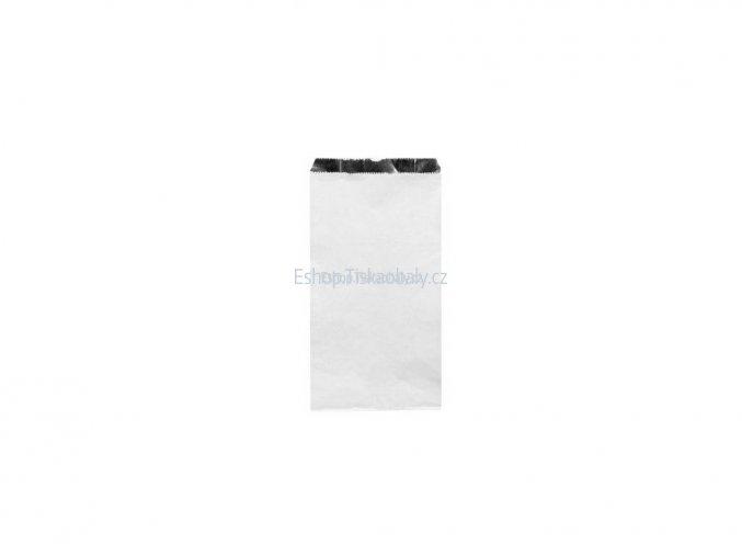Sáček papírový bílý s Al vrstvou, 20+7x32 cm