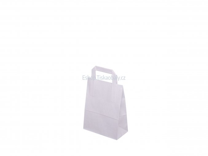 T10021 paper flat handles white 180x80x230