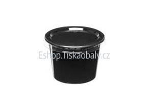 Miska na dresink PS, černá, 50 ml