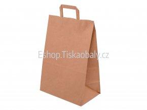 T10040 paper flat handles brown 320x160x430 1