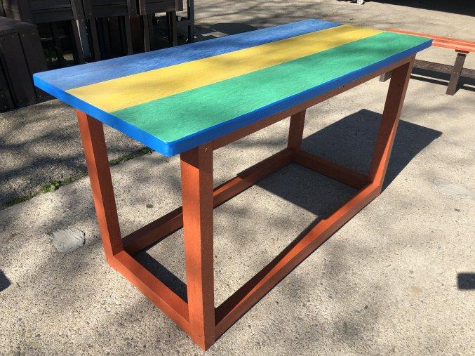 02 hc. Detský stôl farebný