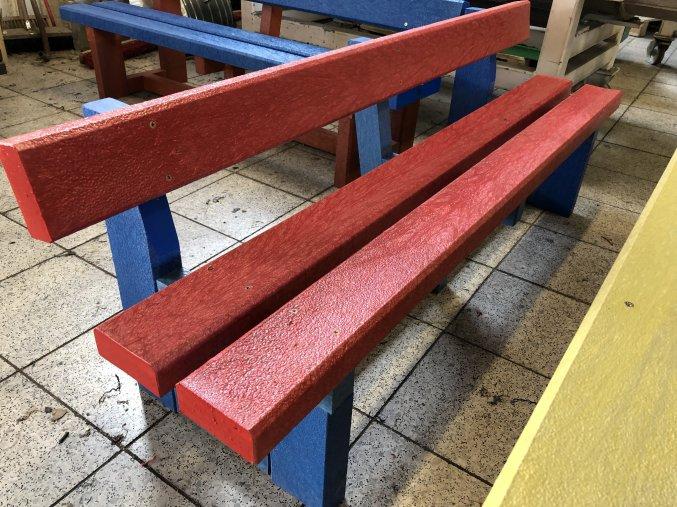 02 c celoplastová lavička 2+2 (202)